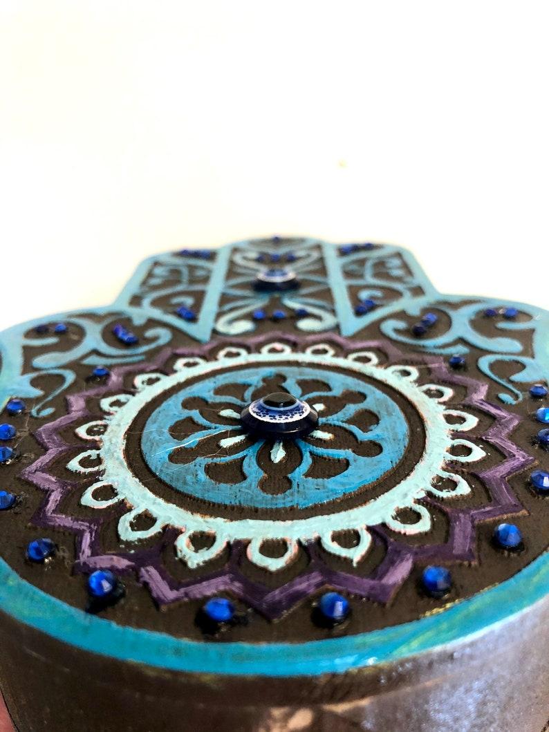 hand made Hamsa jewelry box