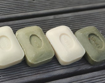 Argile marseille soap, olive oil soap with natural green clay