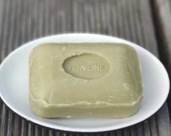 Verveine marseille soap, olive oil soap with verbena extract