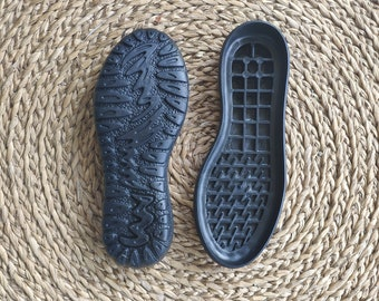 Rubber soles for female clogs and booties - Winter shoes, snow boots soles - black rubber soles for womens shoes