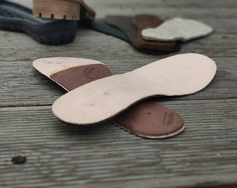 Insoles with shanks for shoemaking, Perepons cardboard and metal shank