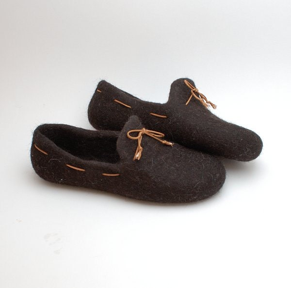082ee3ff5d830 READY to SHIP size EU 42/ us women 10 Felted wool slipper loafers ...