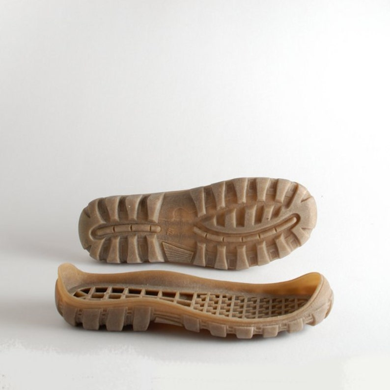 Rubber outsoles for your custom made shoes soles for crotchet Beige