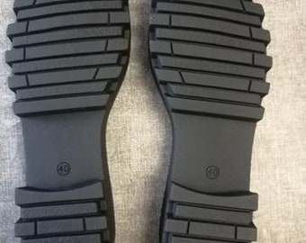 Modern shoe soles for outdoors shoes, rubber outsoles