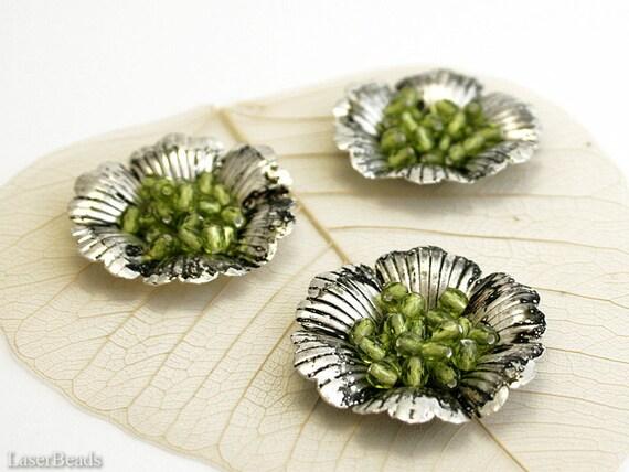 Fuego pulida de vidrio esmerilado perlas vitral Olivine 4mm abalorios con facetas