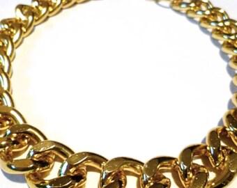 f31078a6d22 Ultra bold  Chunky Gold Necklace