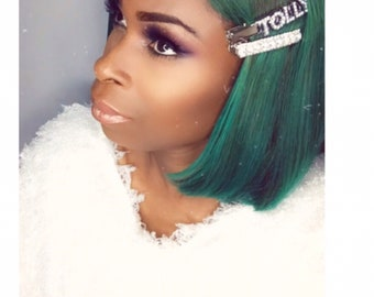 Custom Name Hair Clip, personalised Hair clips, customized hair clips, personalised hair slides, name hair clip, hair accessories, hair clip