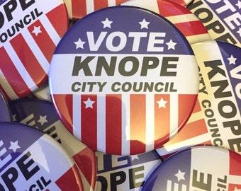 Leslie Knope Campaign Button