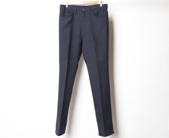 Sta Prest pants WRANGLER levi style 1960s 70s blue