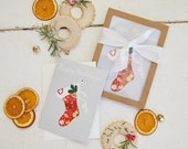 Half Baked Harvest x Etsy, Holiday Stocking Set of Cards