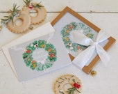 Half Baked Harvest x Etsy, Holiday Wreath Set of Cards.