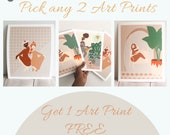 Buy 2 Art Prints get 1 FREE