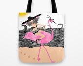 Riding a Flamingo