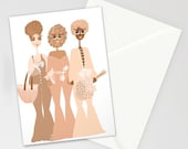 Earthlings Sistas Card