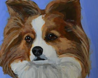 Pet Portraits Original Hand-Painted