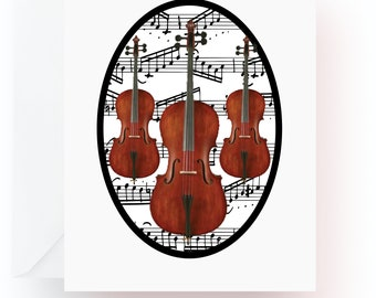 Cello Note Cards, Music Note Cards, Stationery, Note Cards, Blank Cards, Music Teacher Gift, Music