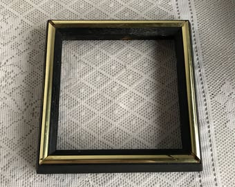 Black And Gold Frame Etsy