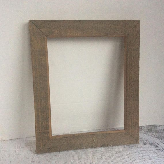 Picture Frames / Vintage Wood Frames / Rustic Rectangle Wooden | Etsy