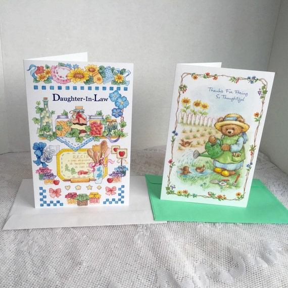 Vintage Cards And Envelopes Daughter In Law Birthday Card