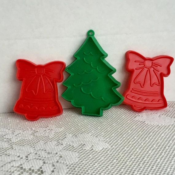 image 0 - Vintage Plastic Christmas Decorations