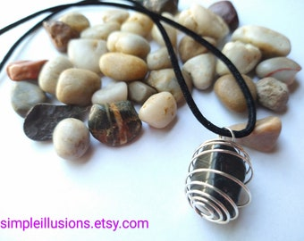 Great Lakes Region Stone Necklace