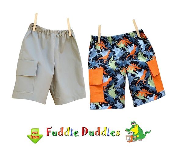 Boys Shorts Pattern Children Clothing Patterns Boys Pants Etsy