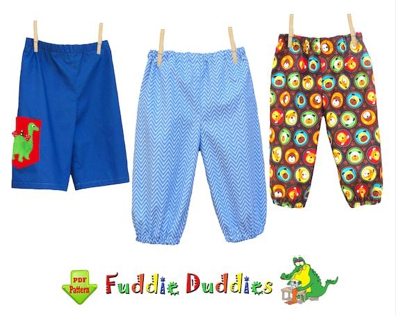Baby Boys Pants Pattern Pdf Baby Pants Sewing Pattern Infant Etsy