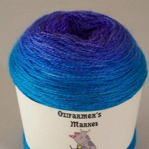 Vanilla Silky Merino Lace 100gm off whiteivory laceweight yarn