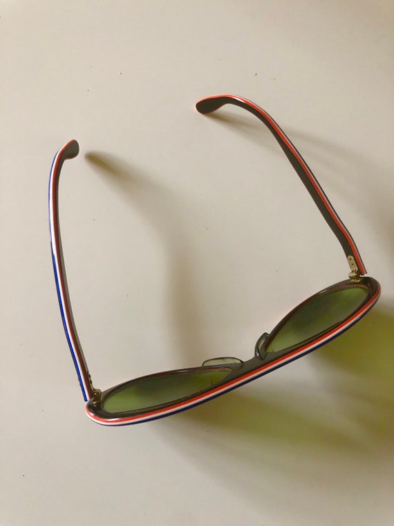 Vintage Made In France Sunglasses 70's Navy MOD R… - image 6