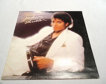 1982 Michael Jackson Thriller Album LP Collectible