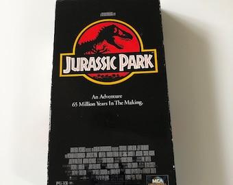 Vintage Jurassic Park 1993 VHS Original Adventure Movie *Half Price With Second Purchase*