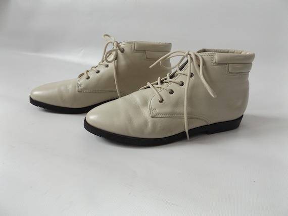 cheville ann chaussons beige cuir 7 1 taille en 2 danexx zwtqvAUw