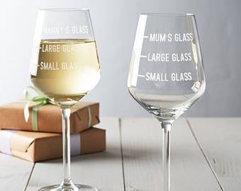 Wine glass for mom | Etsy