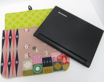 Padded Laptop Sleeve Cover Pouch pattern - sewing bag ebook pouches