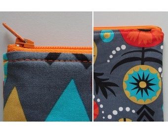 Perfect zip pouch pattern - ebook zipper bag pdf tutorial instructions sewing pouches
