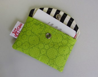 Snappy Business Card Pouch pattern - Card Holder sewing bag ebook credit cards