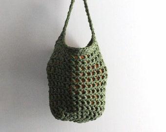 Hanging fruit basket, green storage basket, fruits basket, vegetable basket, wall hanging basket, farmhouse decor, housewarming gift