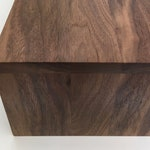 """SALE! Almost Ready to Ship Custom Walnut Wrap for Ottoman up to 31"""" long - or -  Couch Tray up to 36"""" deep"""