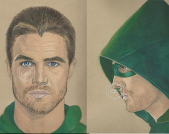 Arrow Oliver Queen Drawing