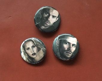 The Originals CW Pushpin Buttons