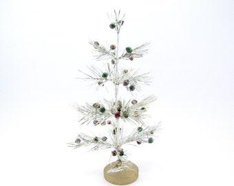 d09b0165b Vintage Tinsel Christmas Tree