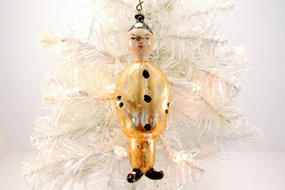 Italienische Figural Glas Christmas Ornament Vintage Etsy