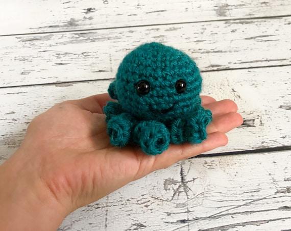 Mini Octopus, Crochet Octopus, Ready to ship