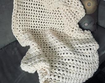 Crochet Blanket, Lapghan, Ready To Ship