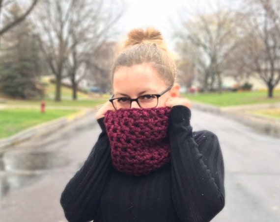 Crochet Cowl,  Made to Order