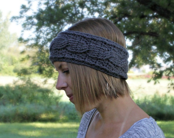 Women's Crochet Headband, Made to Order