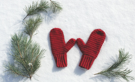 Crocheted Mittens, Made to Order