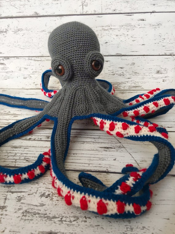 Mini Jax the Mini Octopus, Ready to ship