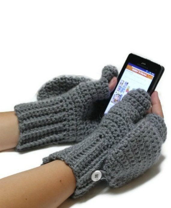 Convertible Texting Mittens,  Made to Order