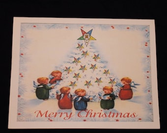 OES Christmas Note card
